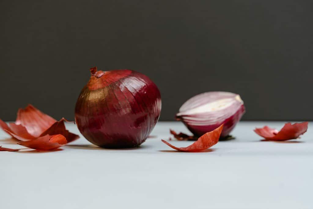 Using Heat to Peel an Onion